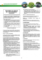 Règlement de service de l'assainissement collectif du SIVAP