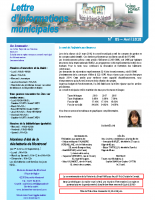 Lettre d'informations municipales n°85 avril 2018