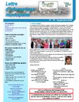 Lettre d'informations municipales n°87 sept 2018
