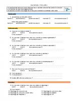 CLS questionnaire de sante habitants