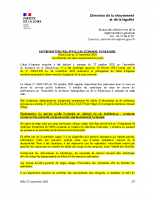 informations dans le domaine funéraire – mise à jour du 27 novembre 2020